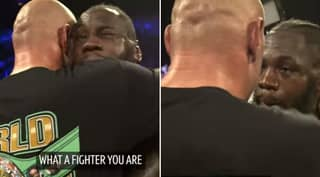 Close-Up Footage Reveals What Tyson Fury And Deontay Wilder Told Each Other Following Fight