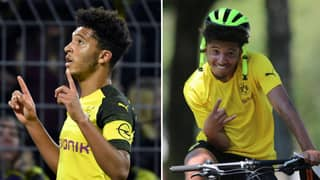Jadon Sancho Is The Top Assister In Europe This Season