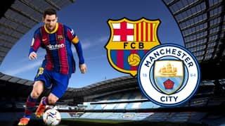 """""""It Would Be Special To Play Alongside Messi"""" Says Manchester City Player"""