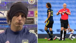 David Luiz Takes Full Blame For Arsenal's 3-0 Defeat Away At Manchester City