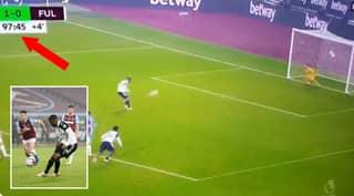 Ademola Lookman Messes Up Panenka Penalty In 98th Minute Of West Ham Vs Fulham