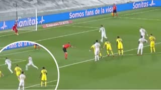 Real Madrid Mess Up Penalty Routine Made Famous By Johan Cruyff