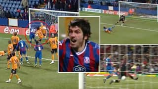 When Crystal Palace Played A Right Back Up Front And He Scored A Perfect Hat-Trick In Six Minutes