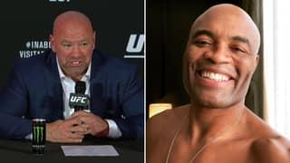 Dana White Confirms UFC Legend Anderson Silva's Final Career Opponent