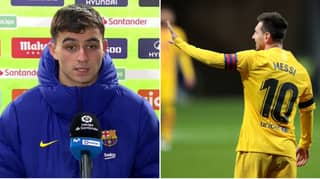 Lionel Messi And Barcelona Slammed For Sending Pedri, 17, To Speak To Media After Atletico Madrid Defeat