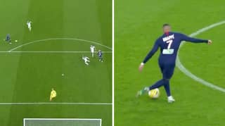 Kylian Mbappe Nearly Scored One Of The Best Goals Ever