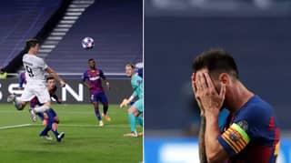 Bayern Munich Destroy Barcelona In Stunning Champions League Quarter Final