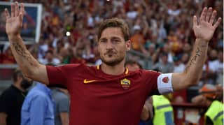 Francesco Totti Reveals The One Player He Wishes He'd Played With