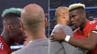 What Pep Guardiola Said To Paul Pogba At Full-Time Has Got People Talking