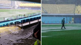 Copa Libertadores Final First Leg Between Boca Juniors And River Plate Postponed