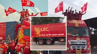 Liverpool Fan Holds Title Parade After Getting Bored Waiting For The Premier League To Restart