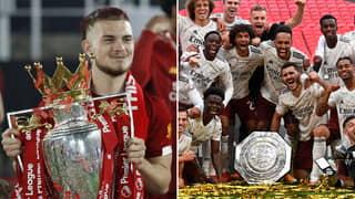 Liverpool's Harvey Elliott Mocks Arsenal's Community Shield Victory During Instagram Live