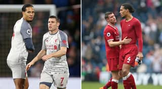 James Milner Recalls Ridiculous Pass From Virgil Van Dijk In Training