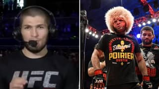 Khabib Nurmagomedov Shows How You've Probably Been Announcing His Name Wrong
