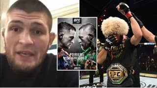 Khabib Makes Huge Statement Ahead Of Conor McGregor's Comeback Against Dustin Poirier