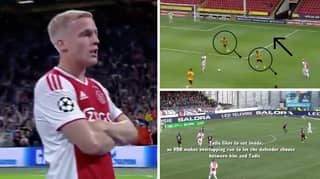 Analysis Of Donny Van De Beek's 'Off The Ball Movement' Proves He Is Perfect Fit For Manchester United