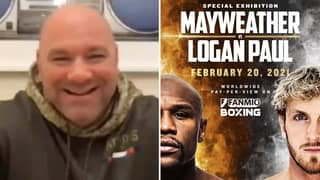 UFC President Dana White Reacts To Logan Paul Vs Floyd Mayweather Announcement