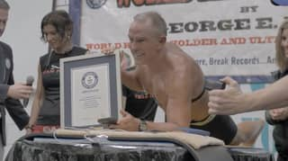 A 62-Year-Old Ex-Marine Beats Guinness World Record For Longest Plank