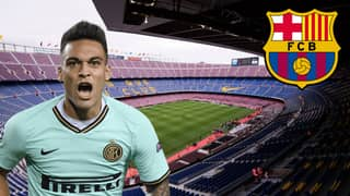 Barcelona Set To Sign Inter Milan's Lautaro Martinez In Cash-Plus-Players Deal