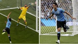 Watch: Luis Suarez And Edinson Cavani Produce Incredible One-Two For Uruguay Opener