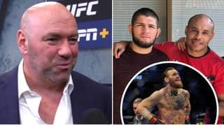 Dana White Responds To Khabib's Manager's Stipulation For Conor McGregor