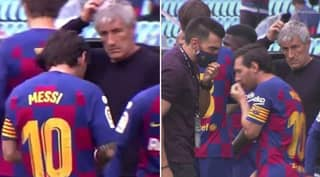 Lionel Messi 'Laughed Compassionately' After Former Barcelona Manager Told Him: 'You Know Where The Door Is'