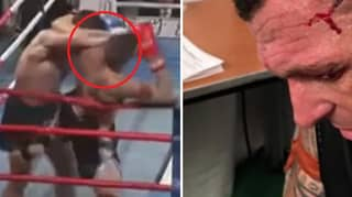 Muay Thai Fighter Suffers Gruesome And Shocking Cut To His Head