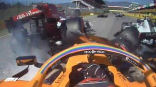 Huge F1 Crashes See Only 12 Of The 20 Cars Finish The Tuscan Grand Prix
