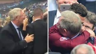 Remembering The Touching Moment Sir Alex Ferguson Waited For Ronaldo Like A Proud Father