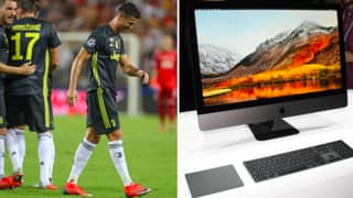 Cristiano Ronaldo Gifted Juventus Teammates iMacs After Red Card Vs Valencia