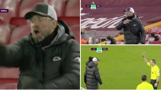 Jurgen Klopp Fumes On Touchline After Foul Is Given Against Liverpool