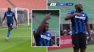 Romelu Lukaku Appears To Scream At Zlatan Ibrahimovic After Scoring In Milan Derby
