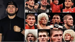 Khabib's Face After His Last 12 Fights Proves He's Most Dominant Champion In UFC History