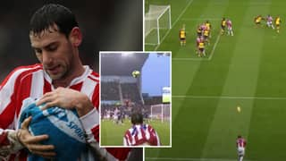 A Compilation Of Rory Delap's 'Undefendable' Long Throw-In Proves It Was The Ultimate Cheat Code