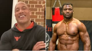 The Rock Responds To 'Beast Of A Man' Francis Ngannou's Workout Offer