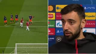 Bruno Fernandes Explains His Decision To Give The Penalty To Marcus Rashford