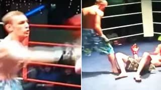 Amazing Rare Footage Of 18-Year-Old Conor McGregor Destroying Opponent In Amateur Fight