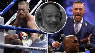 Conor McGregor Sends Promise To Mike Tyson After Defending His Performance Against Floyd Mayweather
