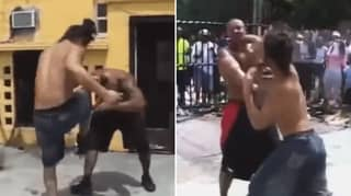 When Jorge Masvidal Had A Street Fight In Kimbo Slice's Backyard