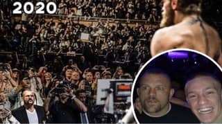 Conor McGregor Sends Message To Chuck Liddell After Viral Photo Surfaces Online