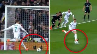 Remembering Cristiano Ronaldo's Special Penalty Technique In The Champions League