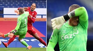Jordan Pickford Hires Bodyguards After Death Threats Following Virgil Van Dijk Challenge