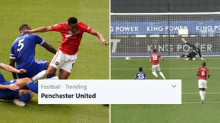 Manchester United Receive 14th Penalty In The Premier League, 'Penchester United' Trends Moments Later