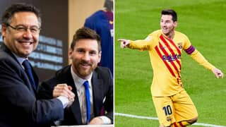 Barcelona Have To Pay Lionel Messi £170,000-A-Week Until 2025