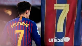 Barcelona Remove Philippe Coutinho As Club's No.7 And Hand Shirt To New Player
