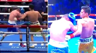Ryan Garcia Stops Luke Campbell With Beautiful Body Shot