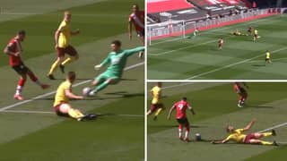 Danny Ings Absolutely Destroys James Tarkowski Before Ice-Cold Finish In Stunning Goal