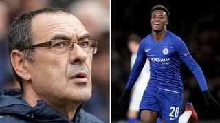 Maurizio Sarri Claims Callum Hudson-Odoi Won't Be A Top Player For Four Years