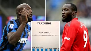 Romelu Lukaku Once Leaked Manchester United Speed Tests To Prove How Fast He Is
