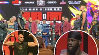 Both Tyson Fury And Deontay Wilder Weigh In Heavier For Upcoming Rematch